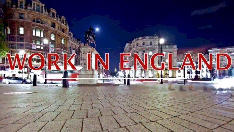 Работа в Англии