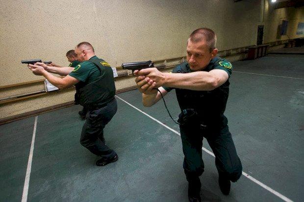 Вооруженная подготовка инкассаторов