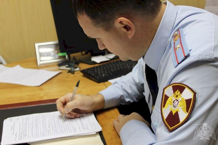 Сотрудники отделения лицензионно-разрешительной работы г.Вологдыпровели проверки ЧОП