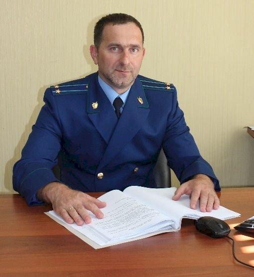 прокурор Кинель-Черкасского района Самарской области Андрей Смирнов